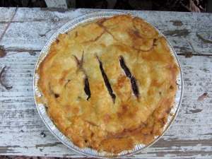 Apple-Blackberry-Lemon Pie