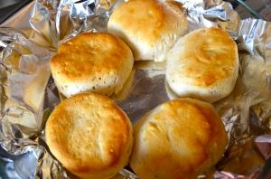 hot, golden biscuits
