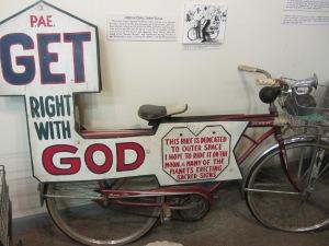 religious bicycle