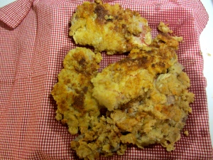 chicken-fried venison