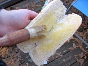 buttered buns